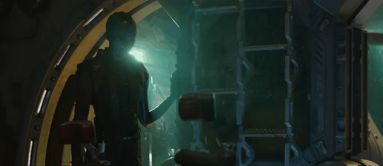 Avengers 4 End Game nebula