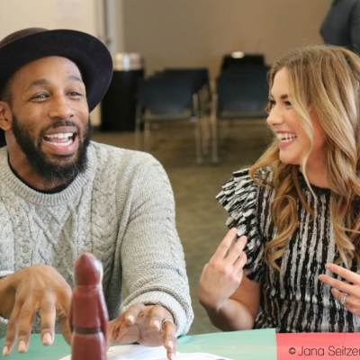 """Chatting with Stephen """"tWitch"""" Boss and Allison Holker"""