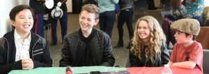 Get Merry with the Cast of Disney Channel's Coop and Cami