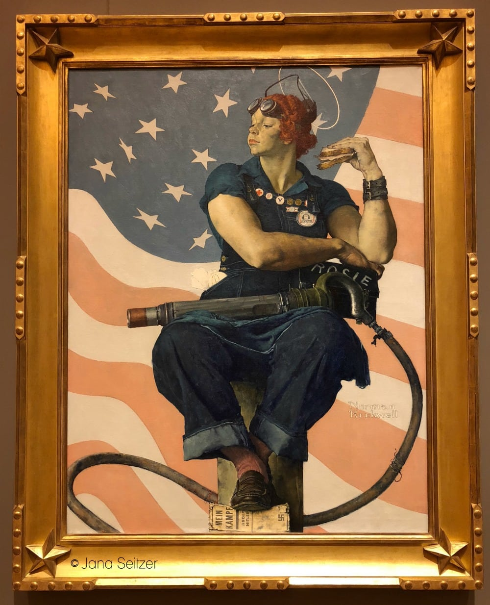 Crystal Bridges Museum - Art in Bentonville, Arkansas - Rosie the Riveter