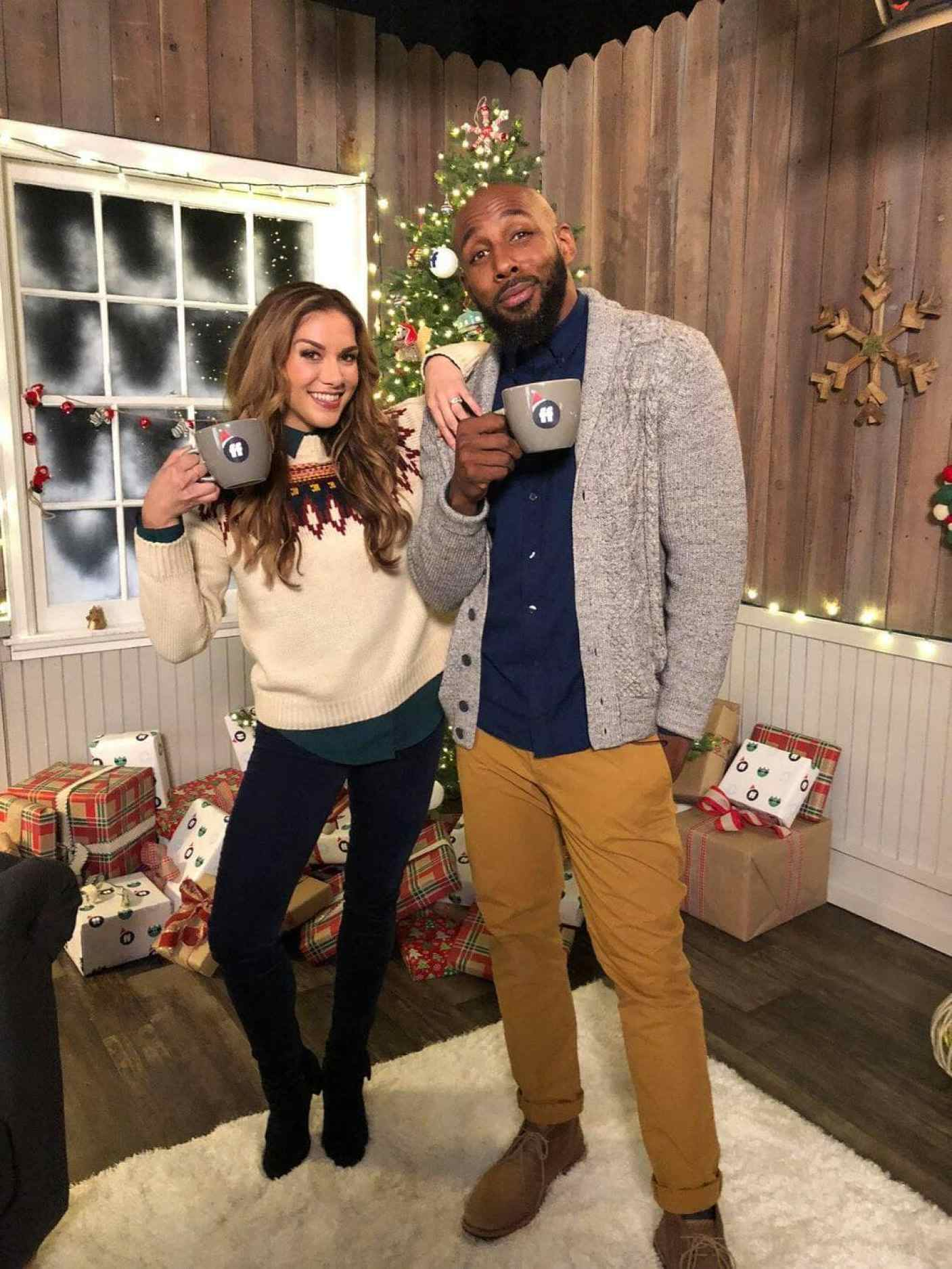 """Chatting with Stephen """"tWitch"""" Boss and Allison Holker co-host of Pop Up Santa and DIsney Fairy Tale Weddings"""