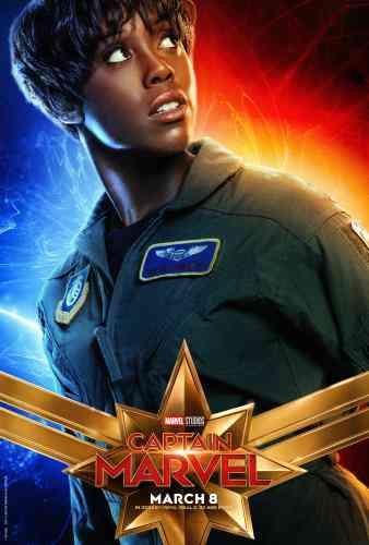 Captain MarvelCharacter Poster - Lashana Lynch