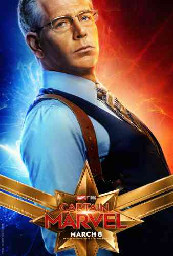 Captain MarvelCharacter Poster - Ben Mendelson