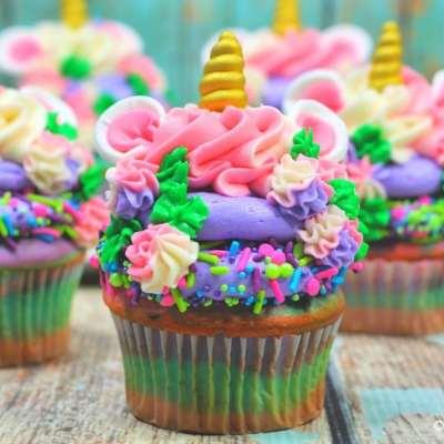 Unicorn Cupcakes Recipe Tutorial