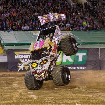 MONSTER JAM in Portland + Giveaway