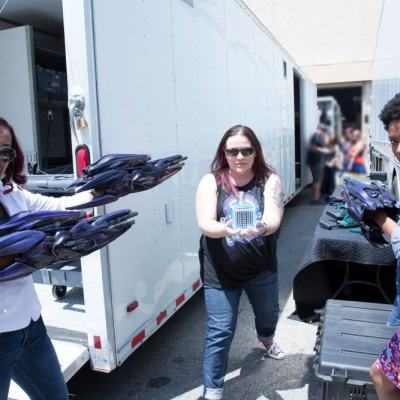 Captain Marvel Set Visit: Behind-the-Scenes of Captain Marvel