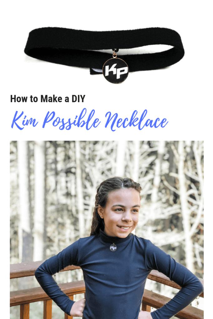 DIY Kim Possible Pendant Necklace