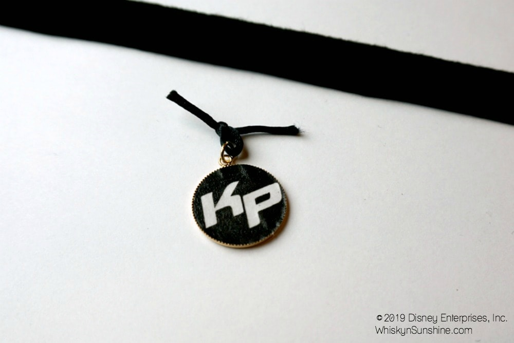 DIY Kim Possible Pendant Necklace rattail 2