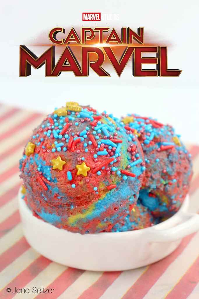 Captain Marvel Edible Cookie Dough