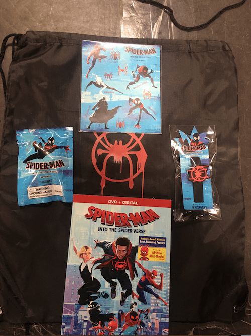 Spider-Man: Into the Spider-Verse Prize Pack