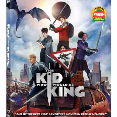 The Kid Who Would Be King available on 4K Ultra-HD, Blu-ray, and DVD