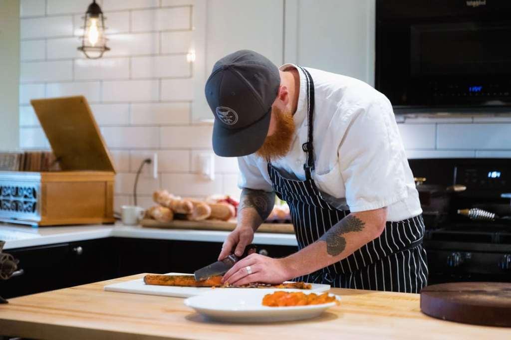 Chef Eric Bartle. Photo credit Abbey Road Farm.