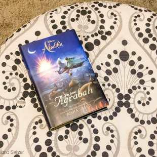 Aladdin: Far from Agrabah on an ottoman