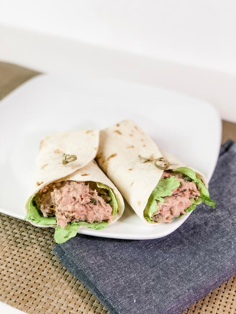 Tuna Salad Wraps with Hidden Valley Ranch
