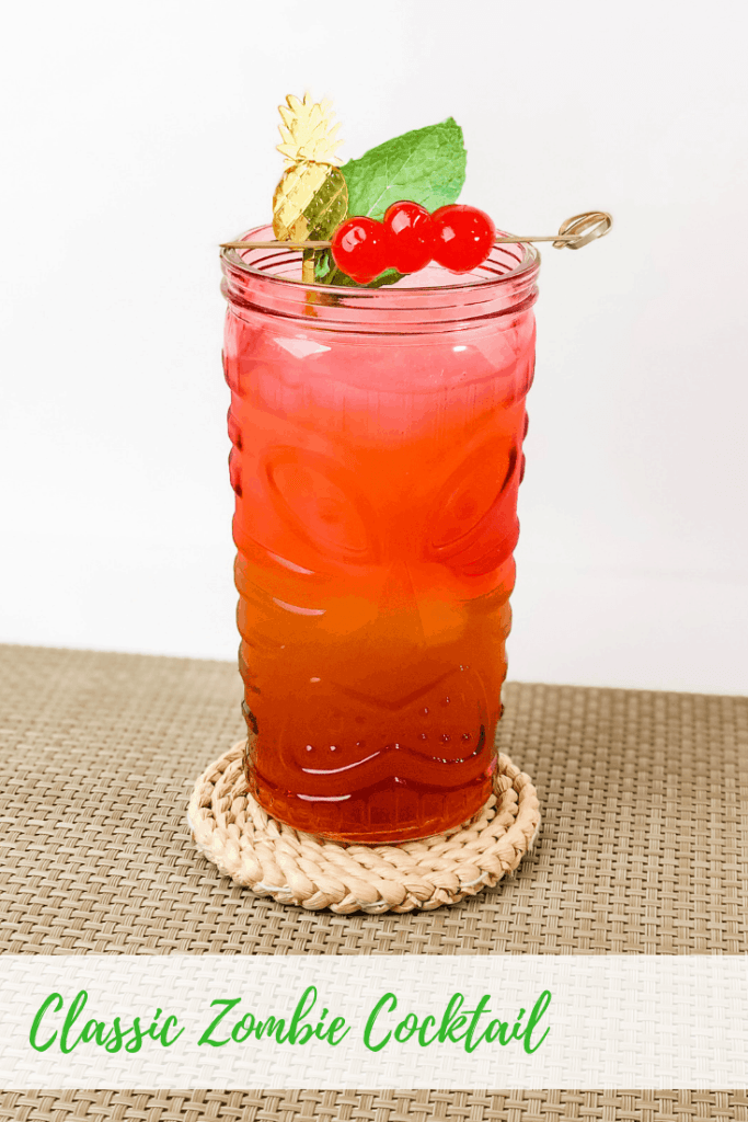 Classic Zombie Cocktail