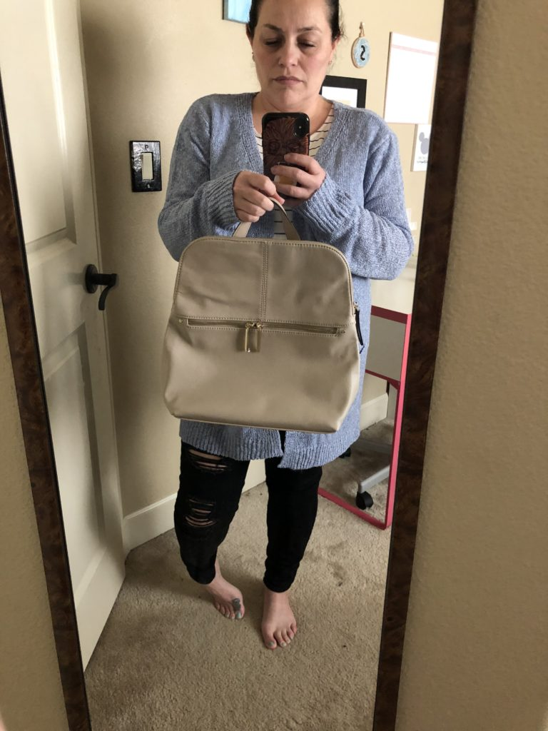 Stitch Fix mirror photo of choices