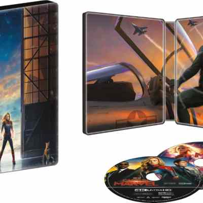 Captain Marvel Collectible SteelBook Now Available