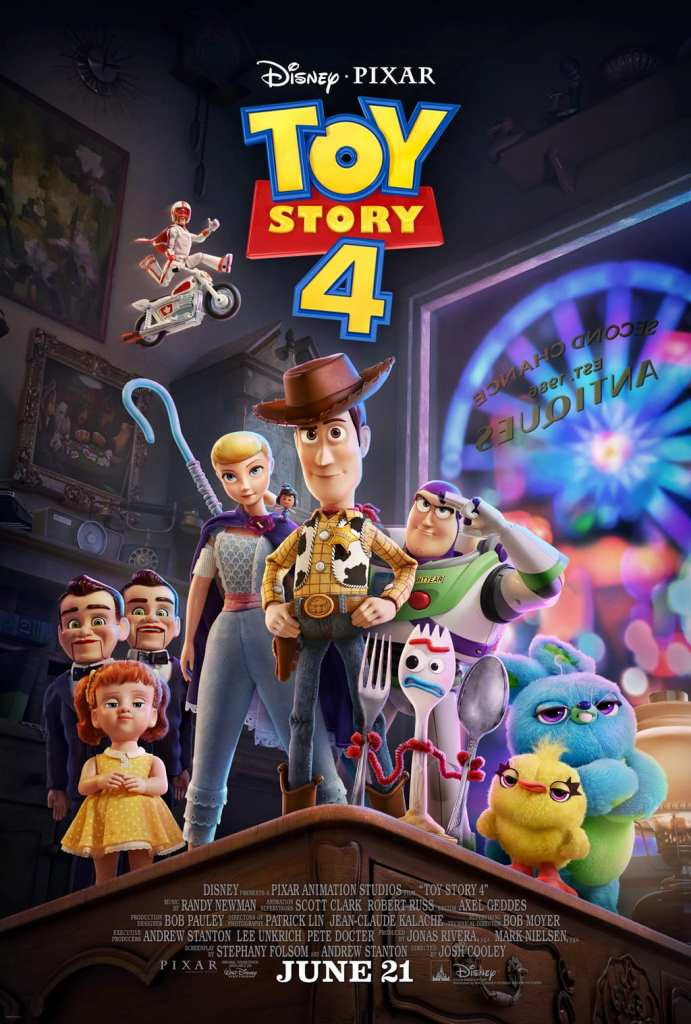 Toy Story 4 - poster Second Chance Antiques