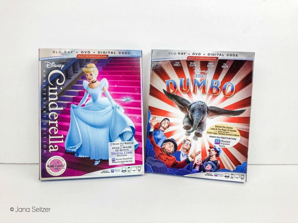 cinderella anniversary edition dvd