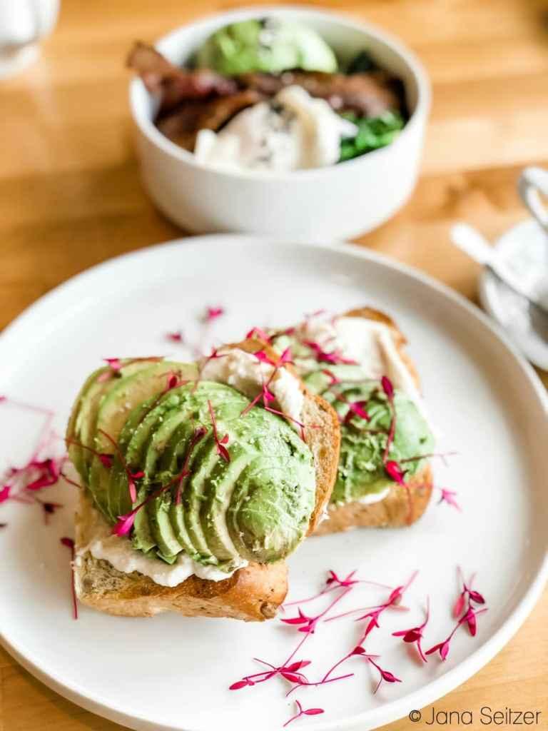 Avocado Toast Stitch Cafe OKC