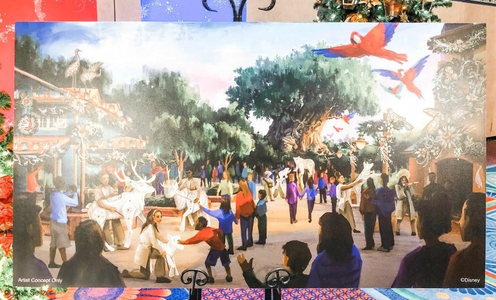 2019 disney holiday at animal kimgdom concept