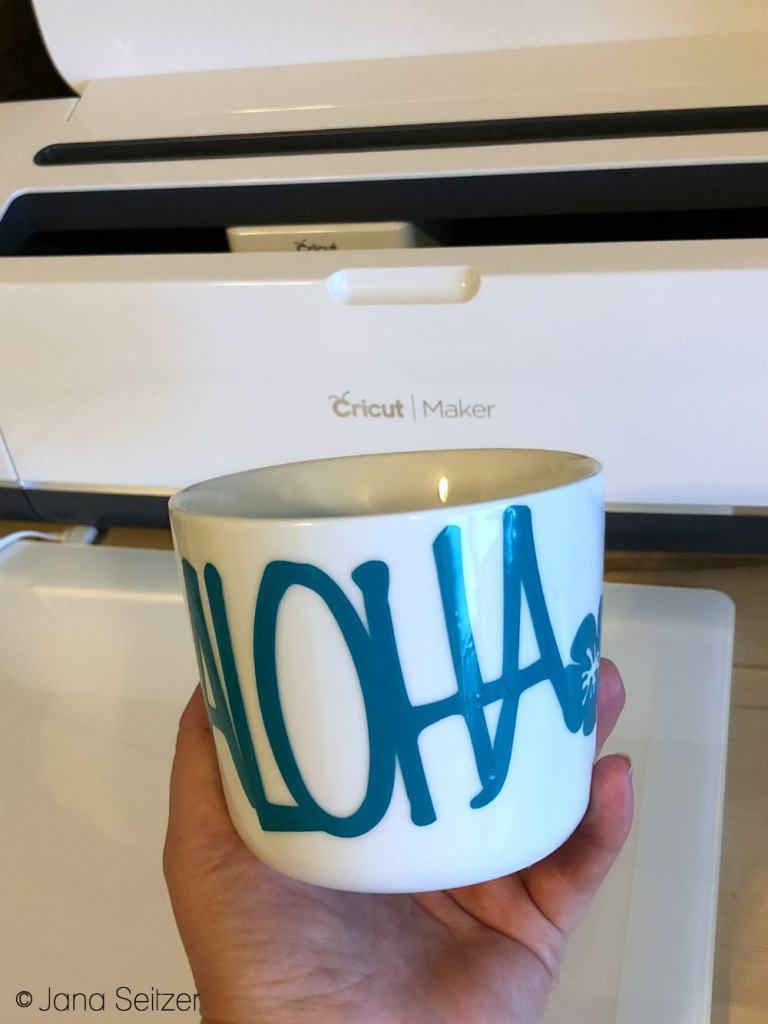 DIY Aloha Mug Craft