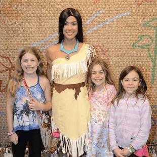 Less Known Character Meet and Greets at Walt Disney World - Pocahontas