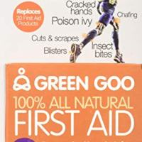 Green Goo All-Natural Skin Care, First Aid, Large Tin, 1.82 Ounce