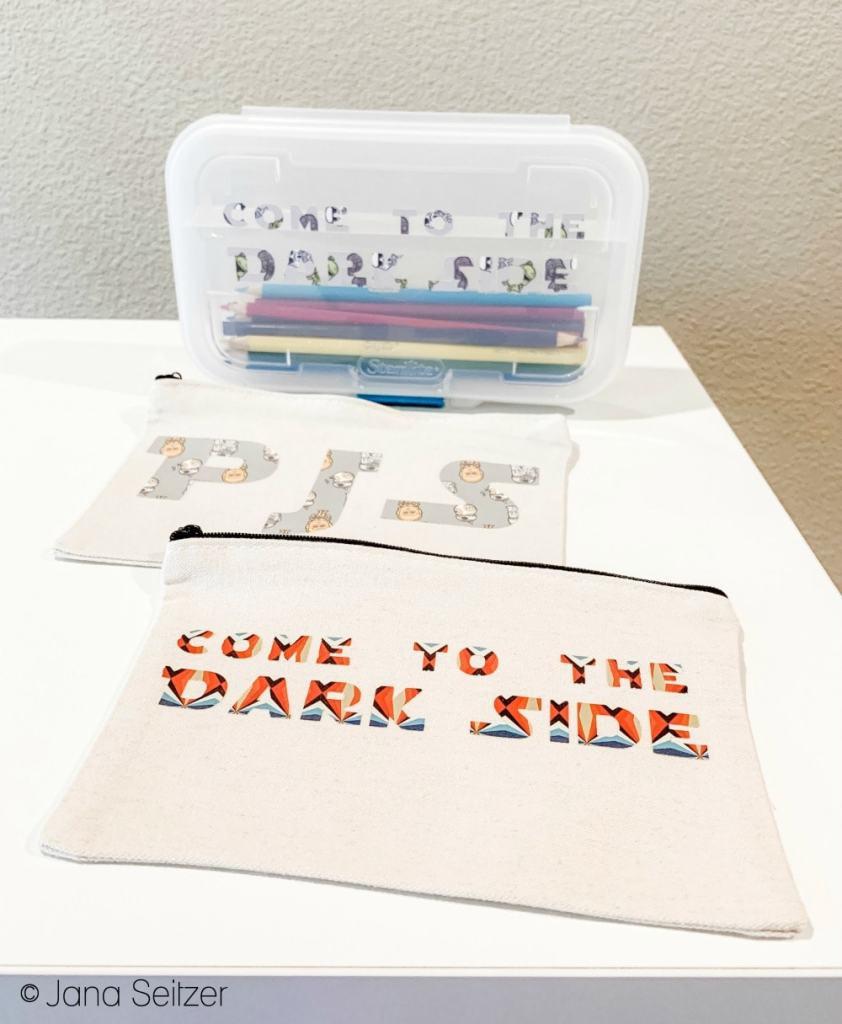 DIY Star Wars Pencil cases