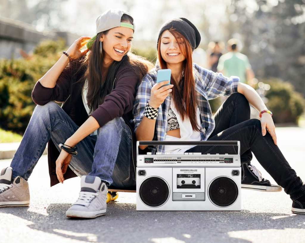ION Boombox Deluxe Bluetooth Speaker