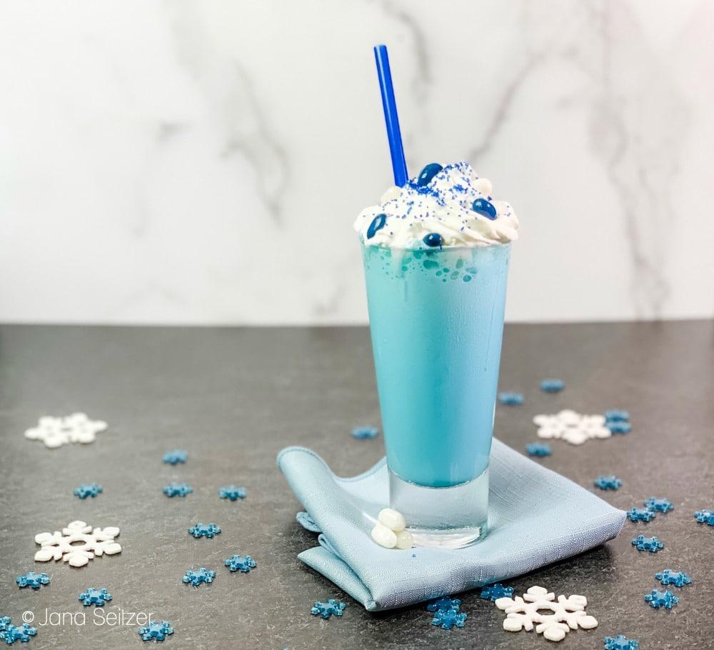 Frozen White Chocolate Milkshake