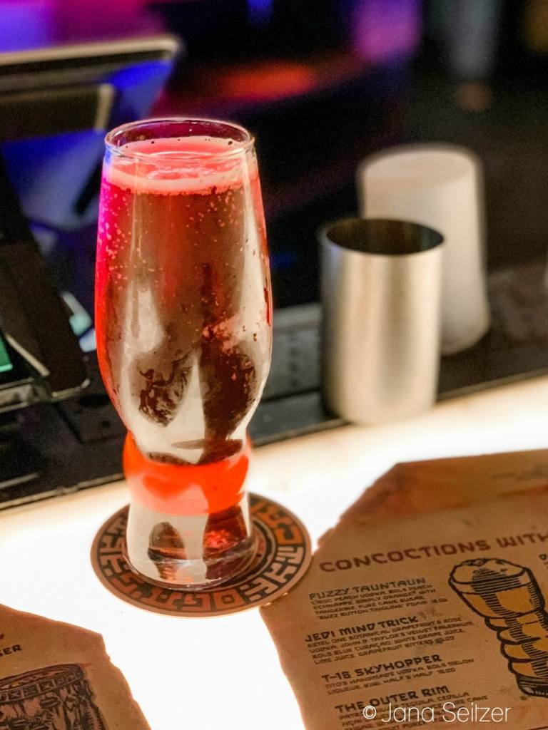 spiced runner hard cider at oga's cantina - What to Drink at Oga's Cantina