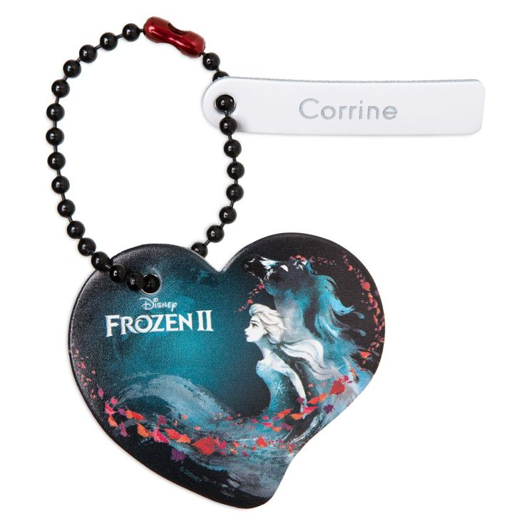 Frozen 2 Heart Tag by Leather Treaty – Personalized | shopDisney
