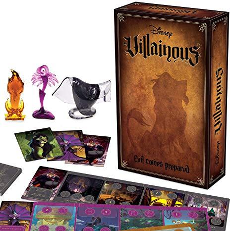 Ravensburger Disney Villainous: Evil Comes Prepared Strategy Board Game