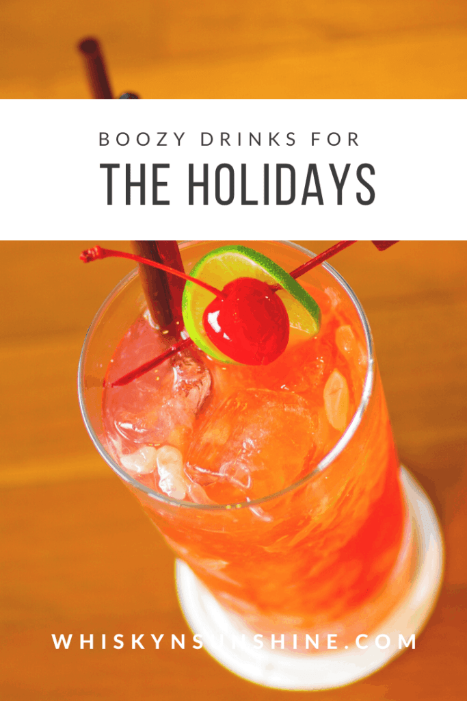 4 Boozy Drinks for the Holidays