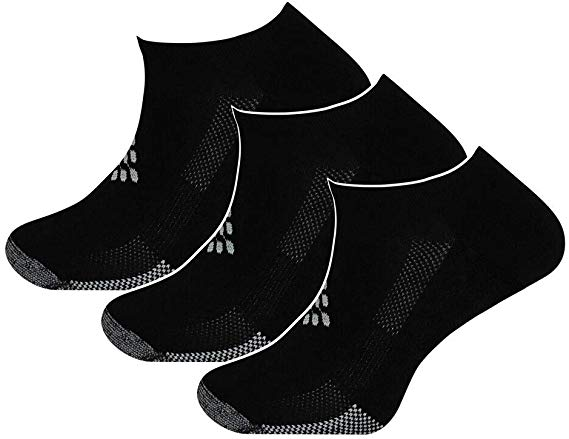 TRUEENERGY-Pro Series Lo-Cut With Arch Support, Infrared Socks
