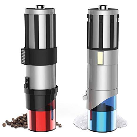 Star Wars Lightsaber Electric Salt and Pepper Shakers