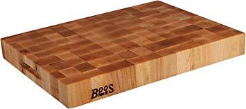 John Boos Block Classic Reversible Maple Wood End Grain Chopping Block
