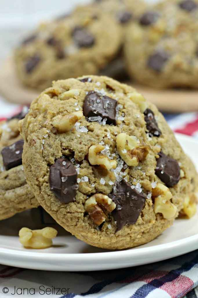 Bourbon Chocolate Chunk Cookies