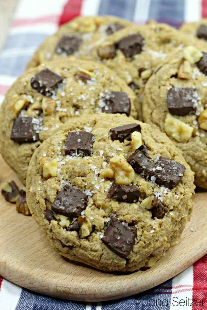 Bourbon Chocolate Chunk Cookies 1