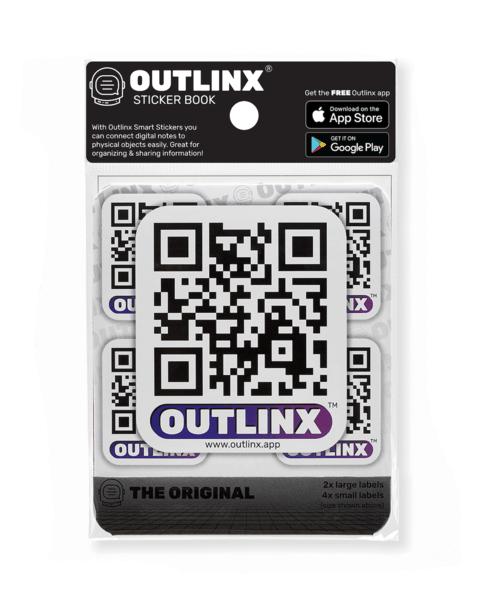 Outlinx QR Smart Sticker Mobile App