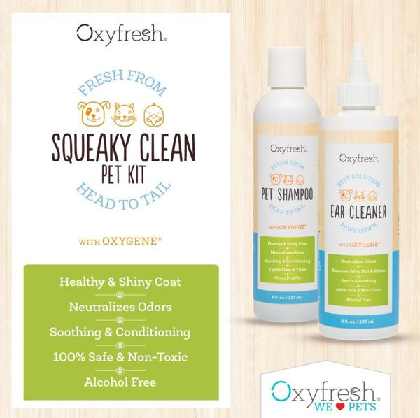 Squeaky Clean Kit for Pets