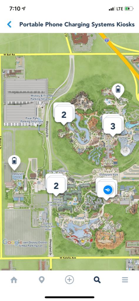 FuelRod SwapBox Disneyland App locations