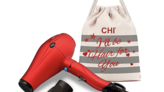 CHI 1400 Series Foldable Compact Hair Dryer Gift Set