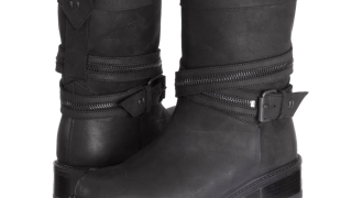 Ross & Snow Cristiana Zip Moto Boot