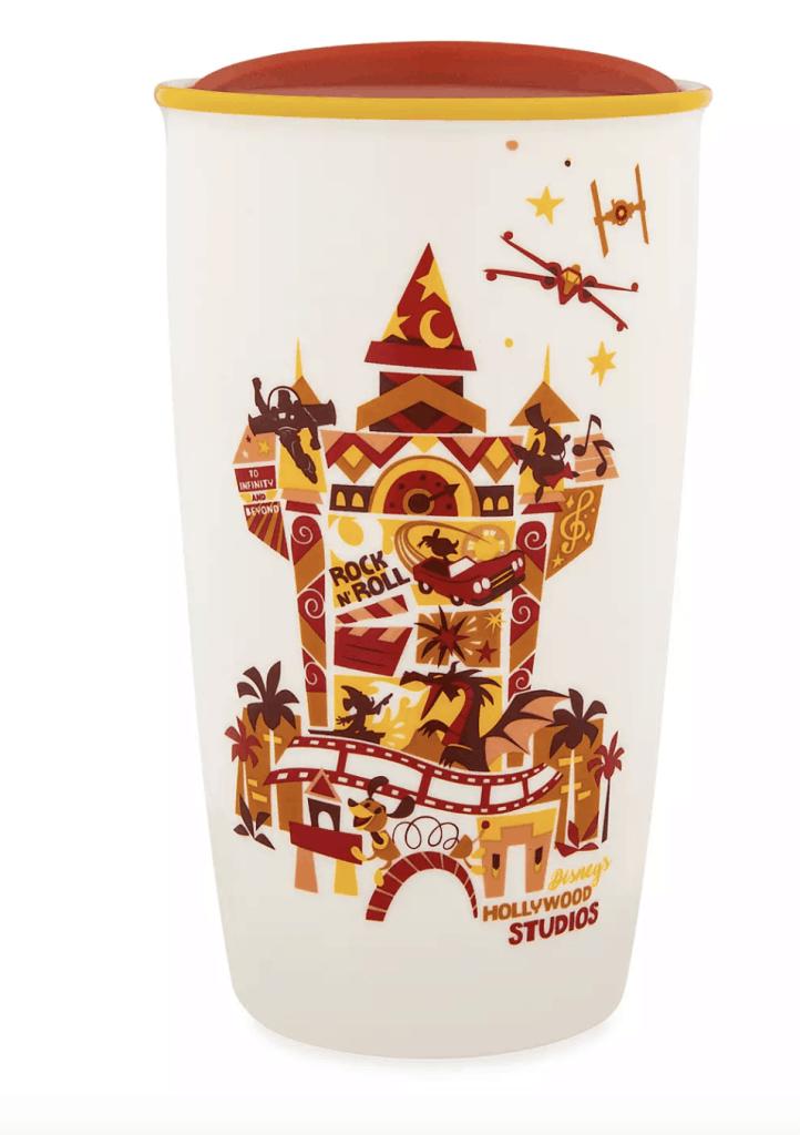 Disney's Hollywood Studios Collage Starbucks Ceramic Travel Tumbler