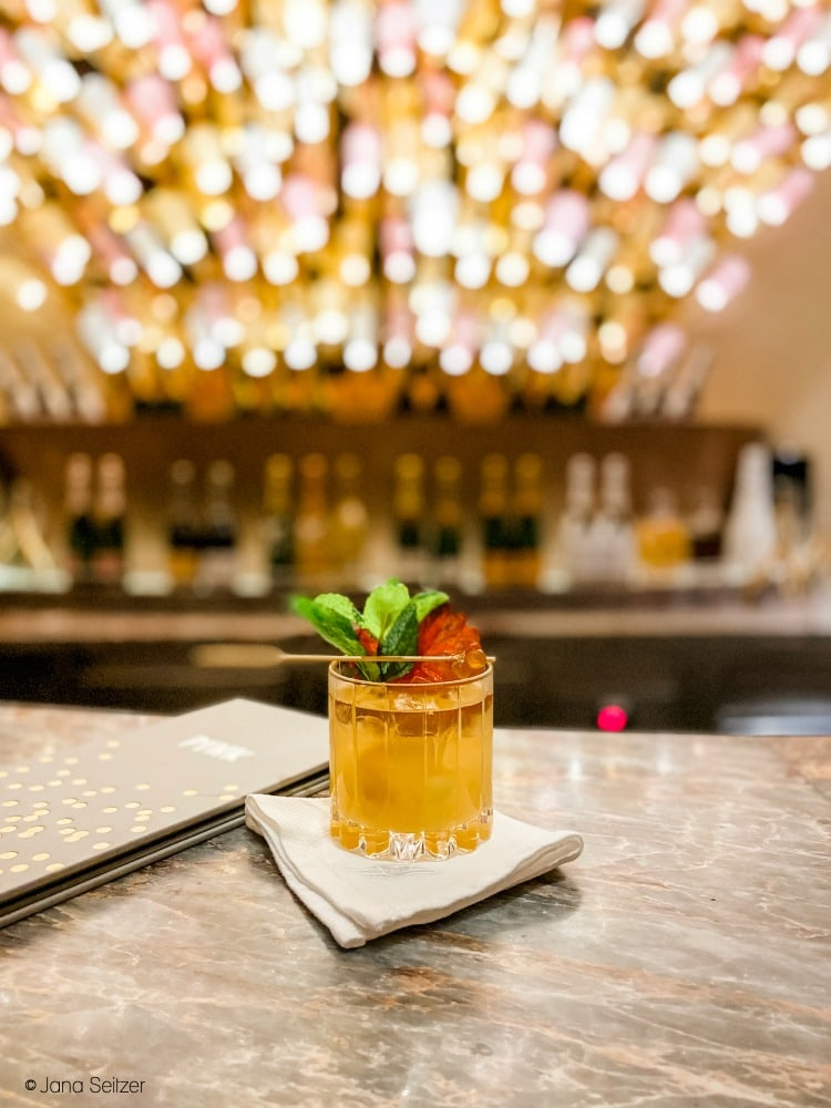 Drink at Pink Bar in the District - Disney Cruise Line