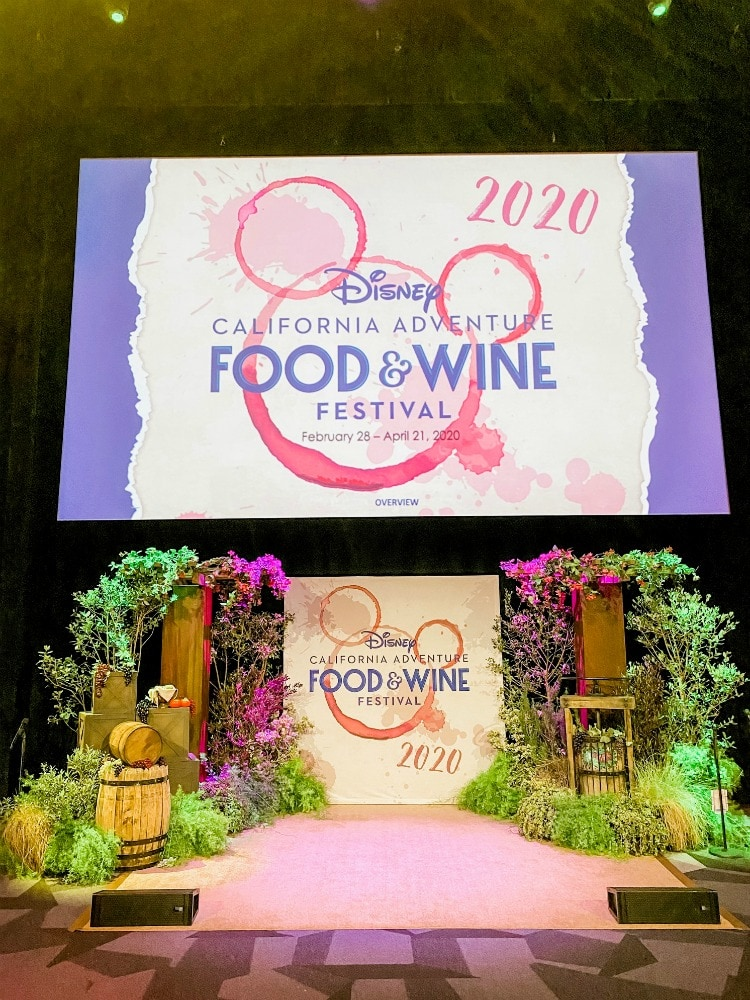 disneyland food and wine festival stage 17