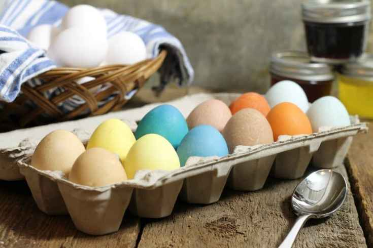 Naturally Dyed Easter Eggs (With Homemade Easter Egg Dye)