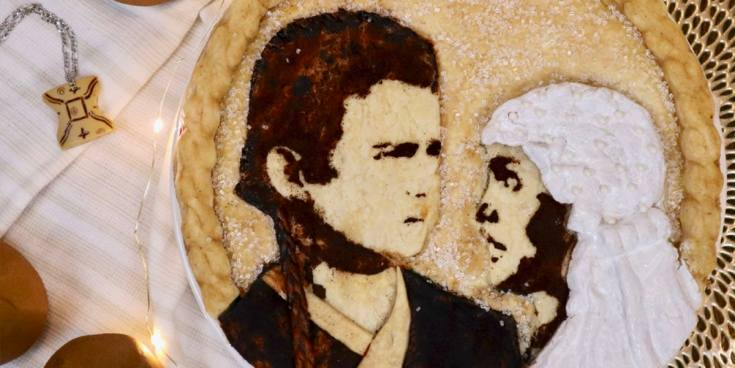 Anakin and Padmé Pear Pie